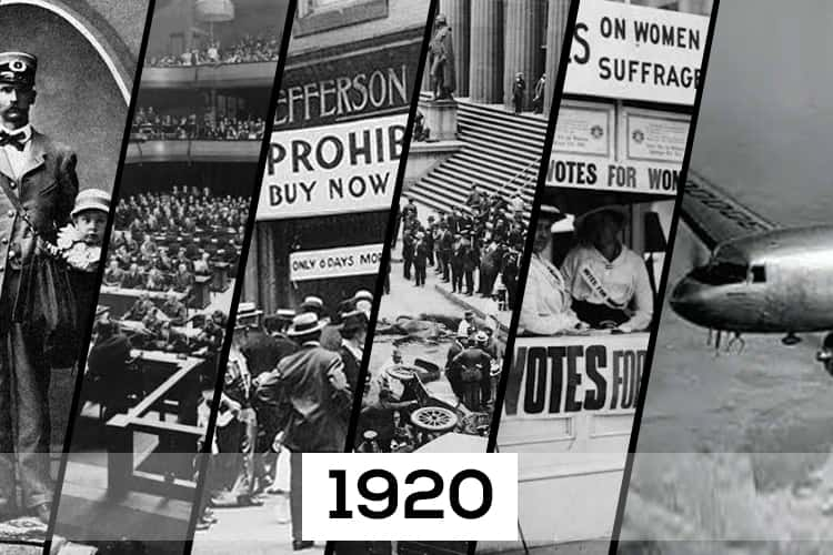 These World-Changing Events Happened 100 Years Ago